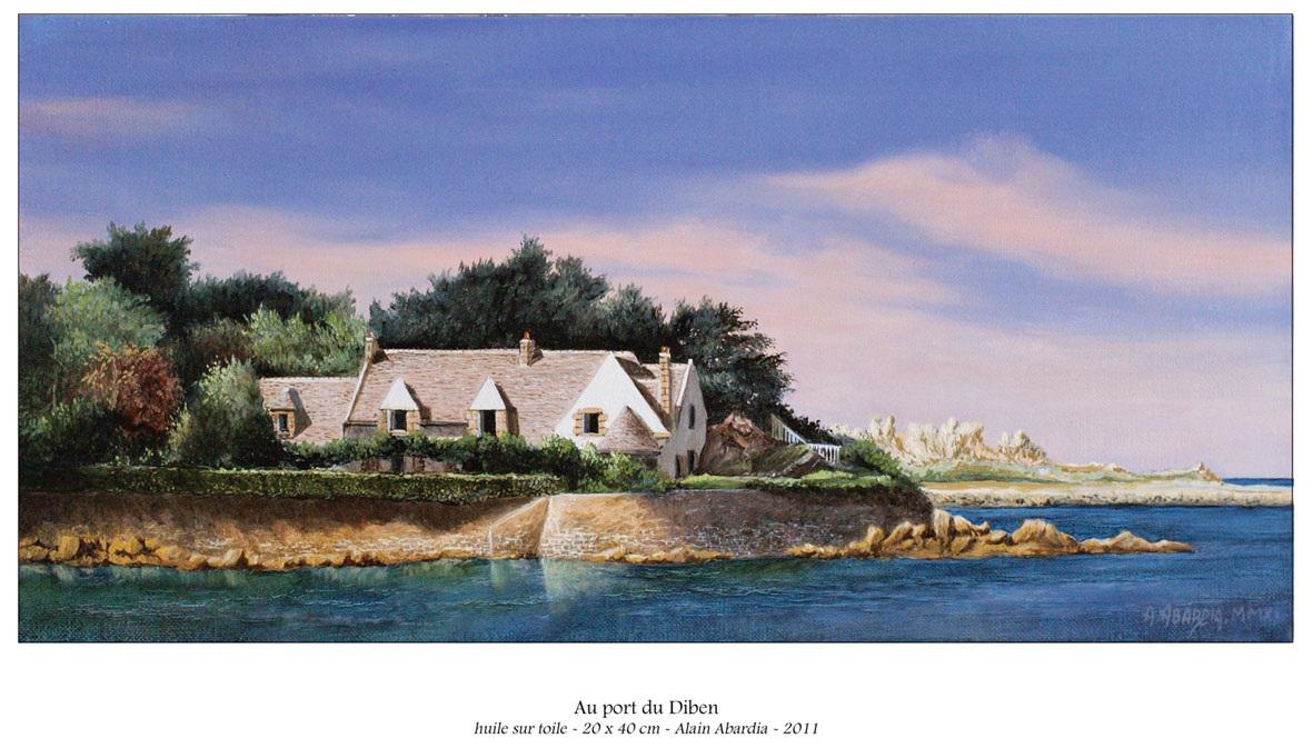 Au port du Diben Alain Abardia